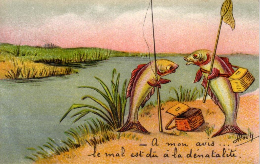 Les mini-bateaux pour la pêche par les mains